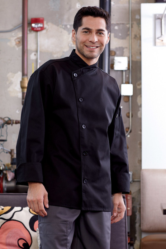 RIO Chef Coat in Black