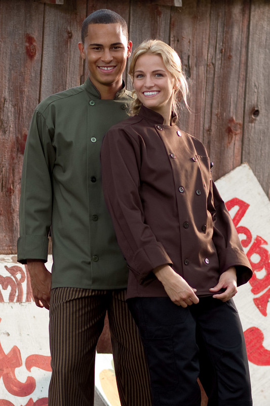 Orleans Chef Coat in Olive