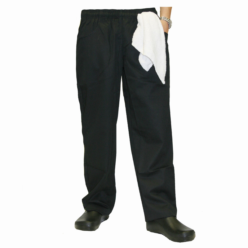 Women's Chef Pants in Black