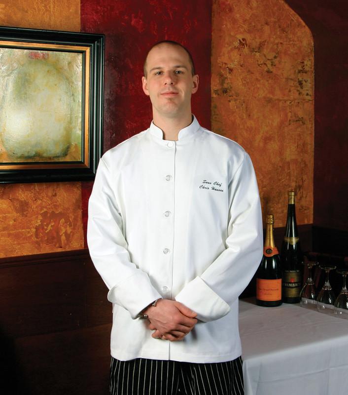 Mandarin Chef Coat - Build Your Own