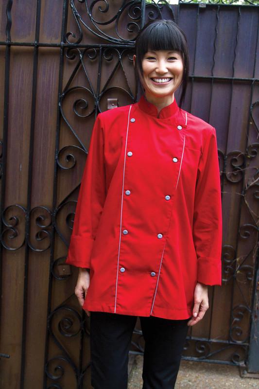Women's Corded Chef Coat - Build Your Own