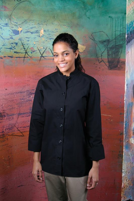 BYO Premium Women's Mandarin Chef Coat