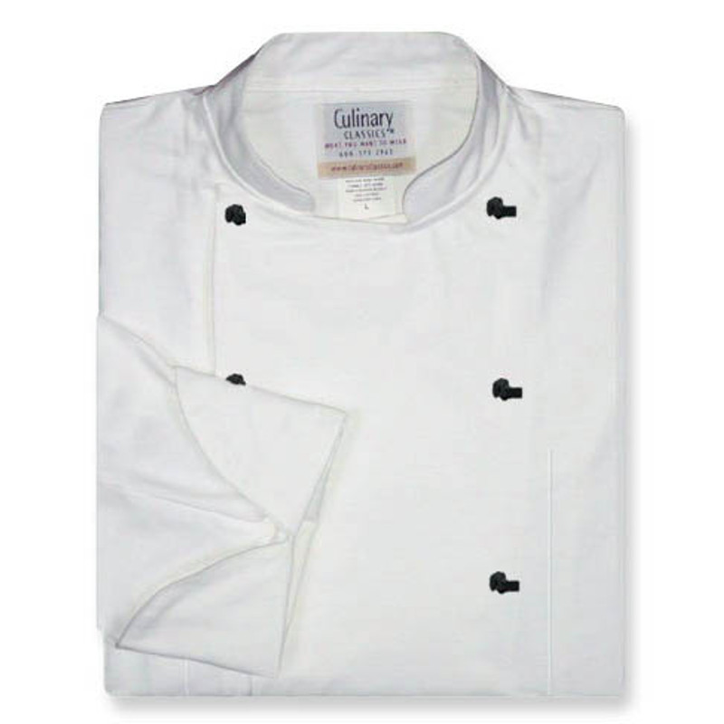 Women's Traditional Coat in White Poplin