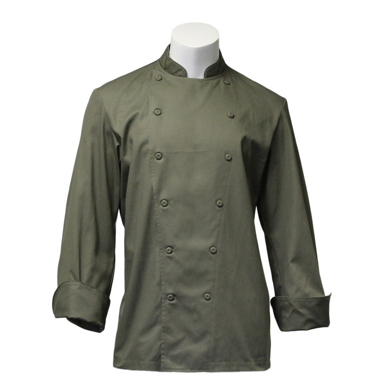 Traditional Chef Coat in Jalapeňo Cotton