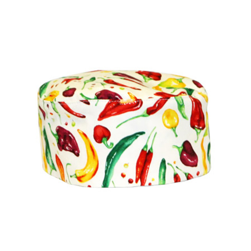 Baker's Beanie with Peppers - more colors
