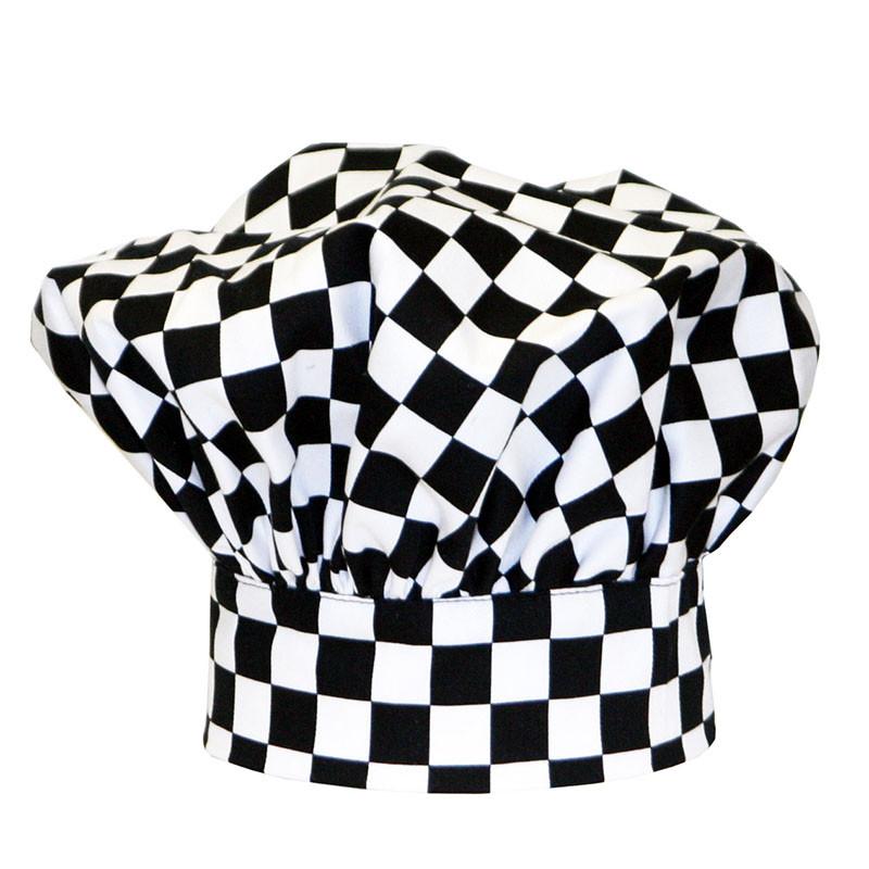 Premium Toque Hat in Big Check
