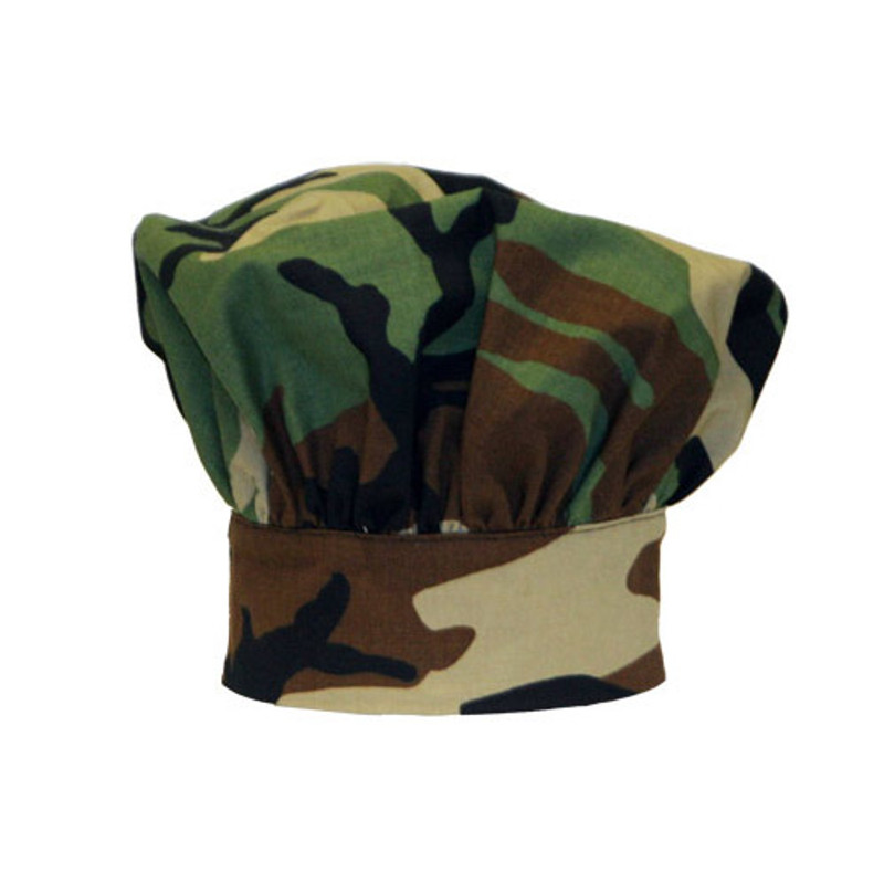 Premium Toque Hat in Camouflage