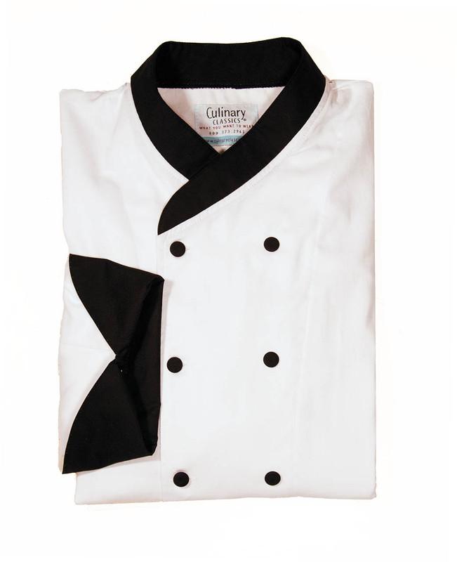 custom chef coat