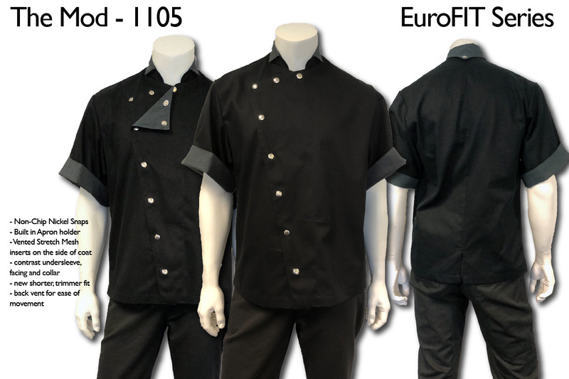 The Mod Chef Coat