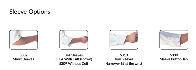 Lucca Chef Coat - Build Your Own