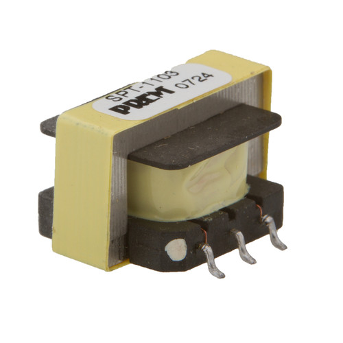 "SPT-1103: 600Ω:600Ω Impedance, 0.790"" Max. L x 0.480"" Max. H, Surface Mount, Coupling Transformer"
