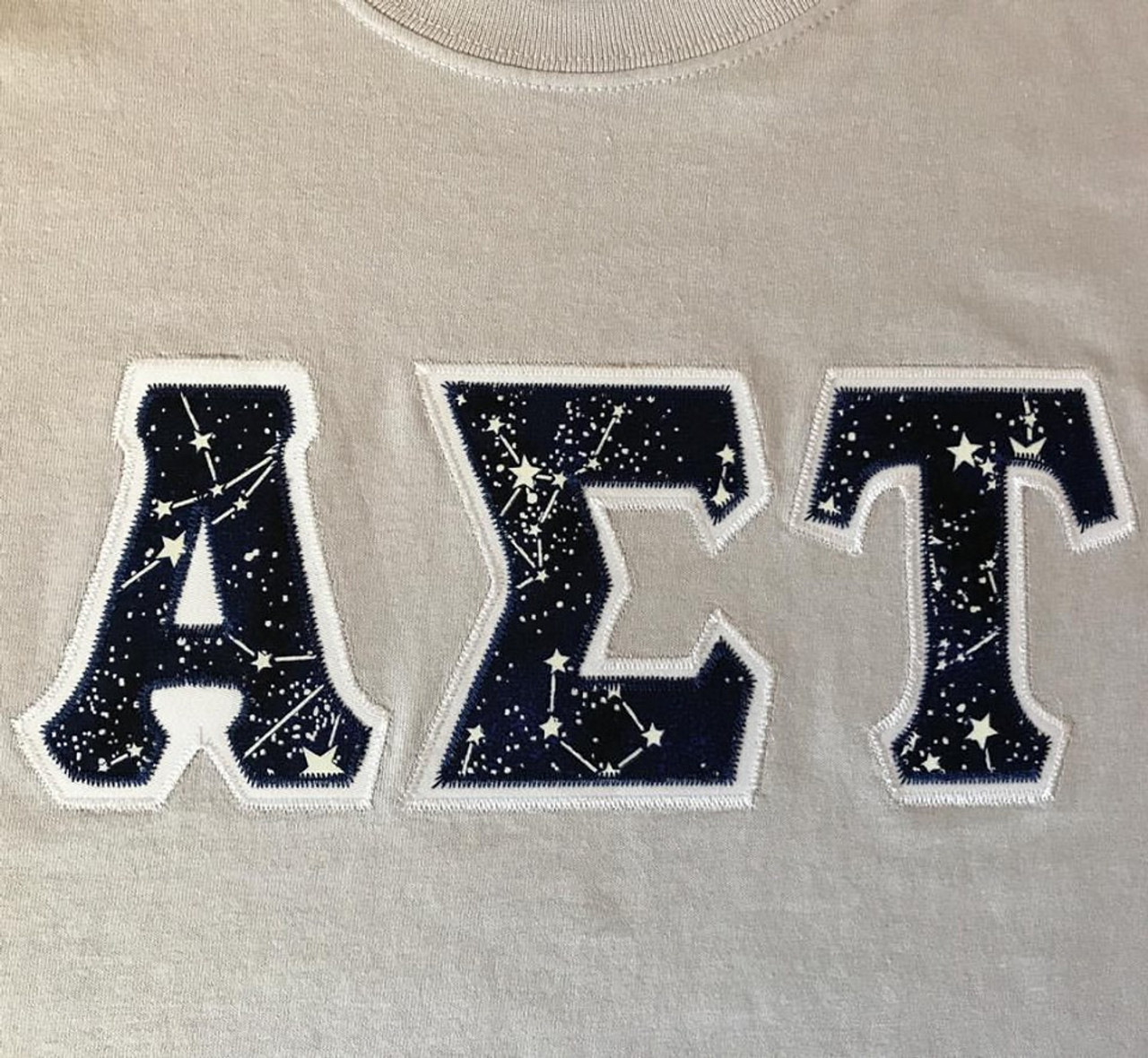 custom galaxy letter shirt the sorority spot