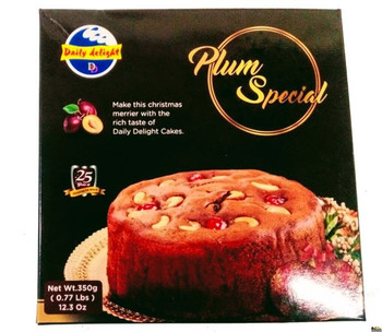 DAILY DELIGHT PLUM SPECIAL CAKE  350 GMS