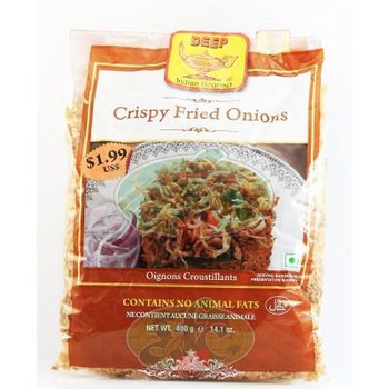 Deep Crispy fried onion - 400 gms