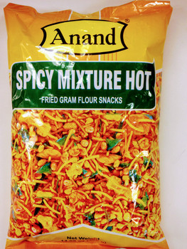 Anand Spicy Mixture Hot (Fried Gram Flour Snacks)-400g