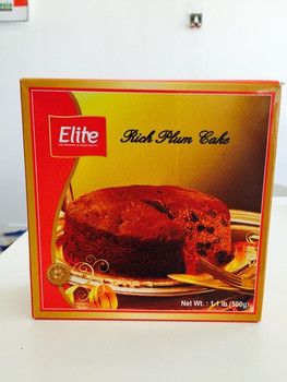 ELITE RICH PLUM CAKE - 500 GMS - FREE SHIPPING