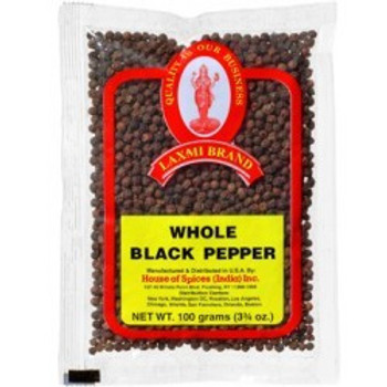 LAXMI -  BLACK PEP. WHOLE 20-100 GM