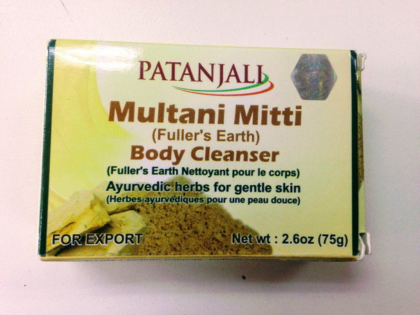Patanjali Multani Mitti Body Cleaner - 75g