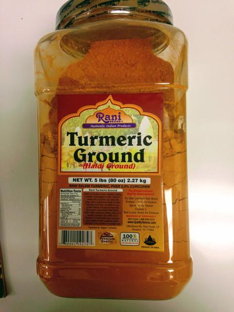 Rani Turmeric Powder - 5lb
