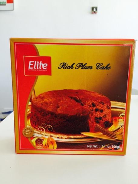 ELITE RICH PLUM CAKE - 500 GMS - FREE SHIPPING
