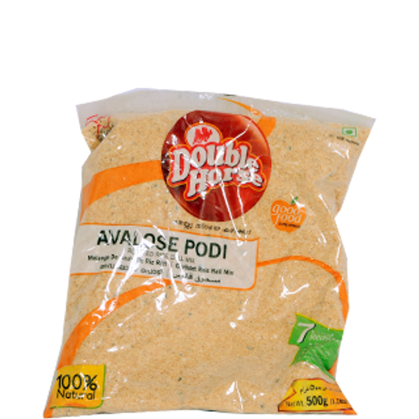 Buy 2 Get 1 Free. Double-Horse-Avalose-Podi-500gms($7.99 for 3)