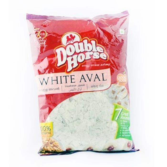 D.HORSE RICE FLAKES WHITE - 500GMS