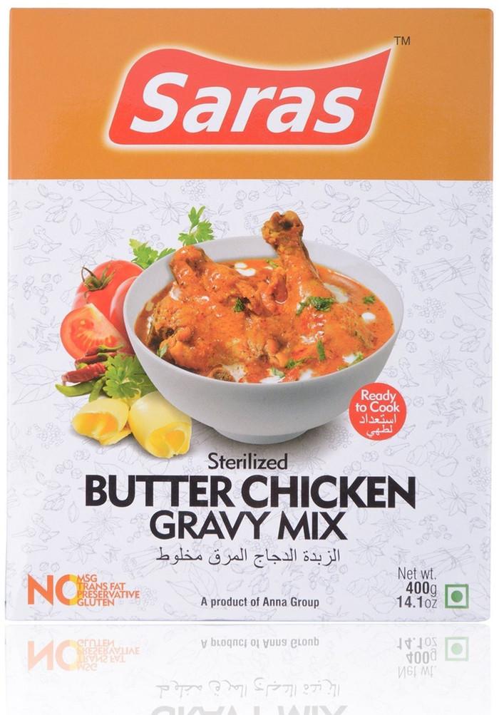 Saras--Butter-Chicken-Gravy-Mix-400gms