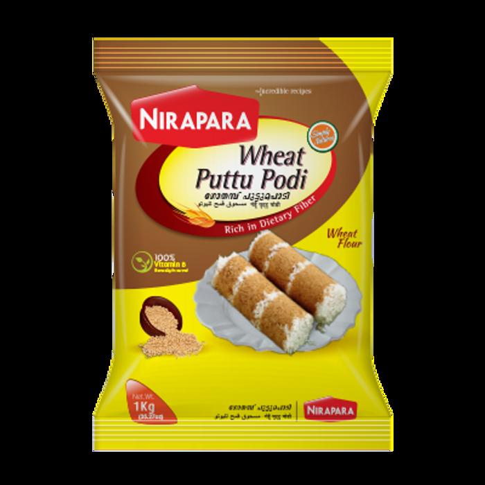 Nirapara Wheat Puttu Podi-1kg
