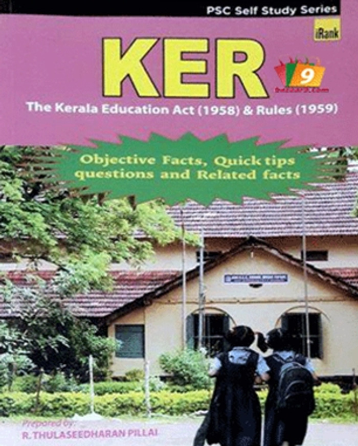 THE KERALA EDUCATION ACT AND RULES