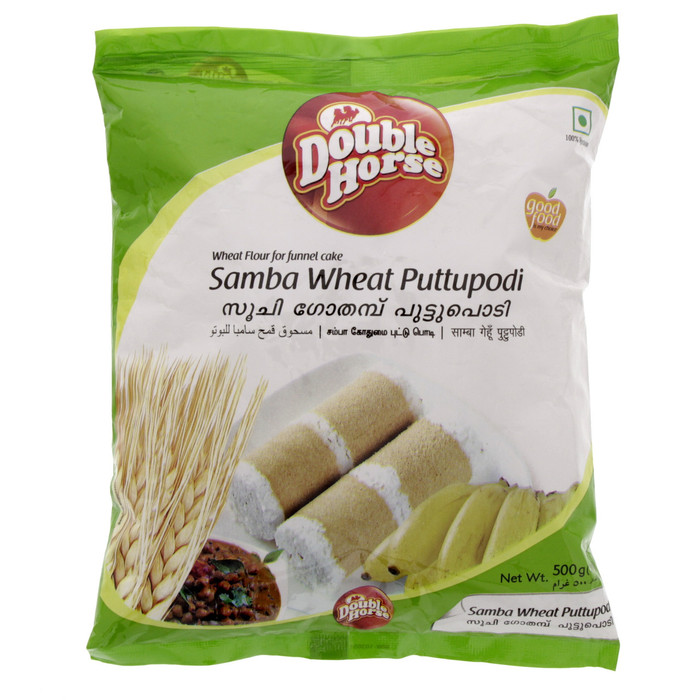 Double Horse Wheat Puttu Podi - 1 Kg