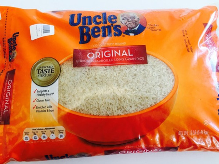 Uncle Ben parboiled rice 12lb