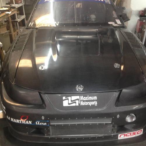 Mustang SN95 Carbon Fiber Hood Replacement