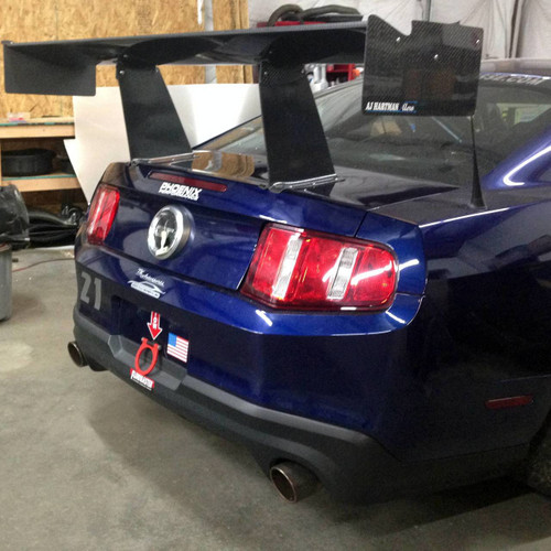 "Mustang S197 Boss 302 Racing Wing, 14"" Chord"