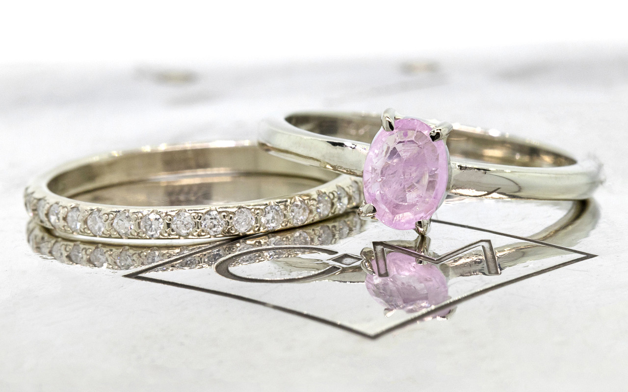 oval scallop kiss rings gabriella pink shop insp ring cut sapphire august rose