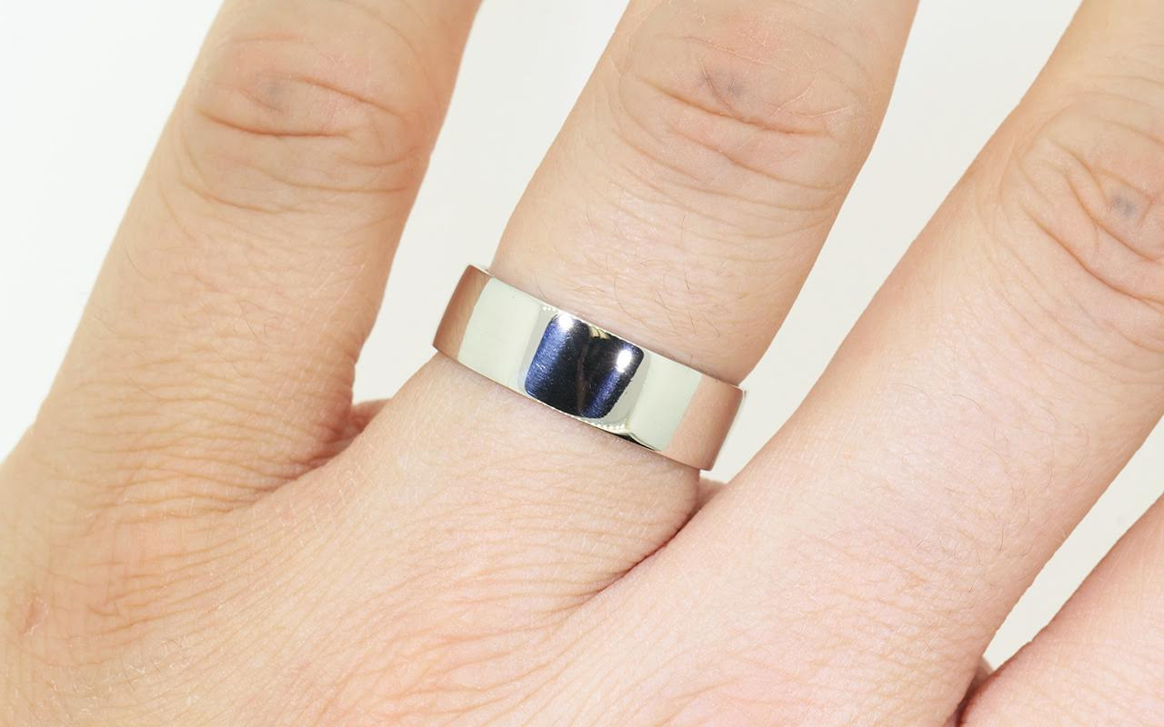 bands rings handmade products s solid band mens wedding square cordingley rebecca ring men gold