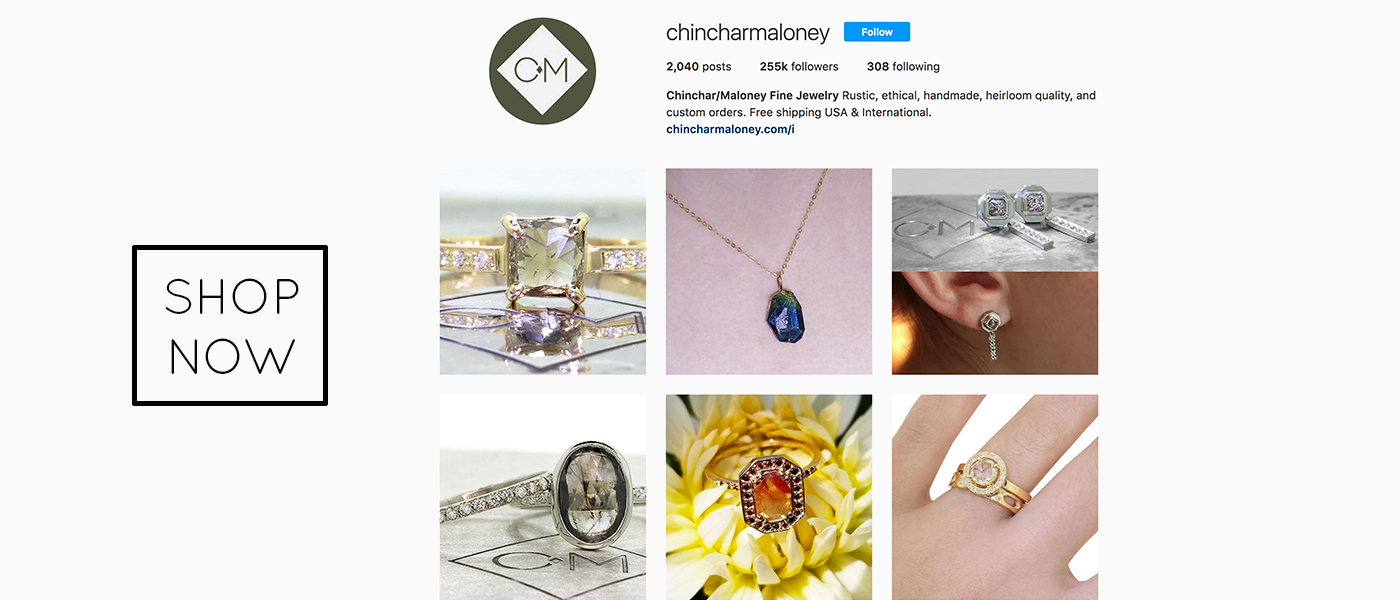 Photo of our instgram feed that links to our shoppable feed.