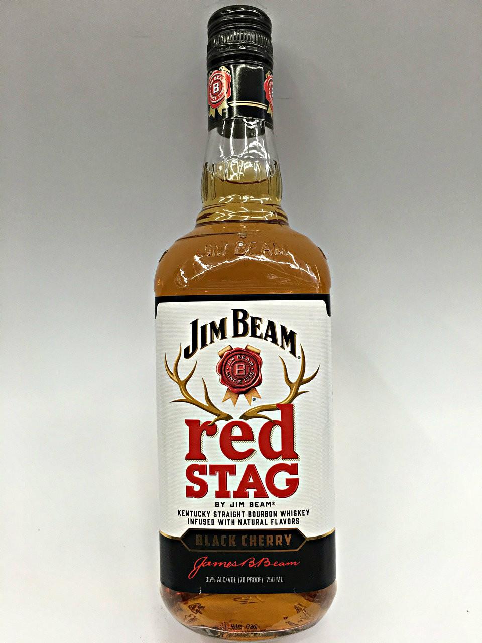 Red Stag Black Cherry By Jim Beam Kentucky Straight