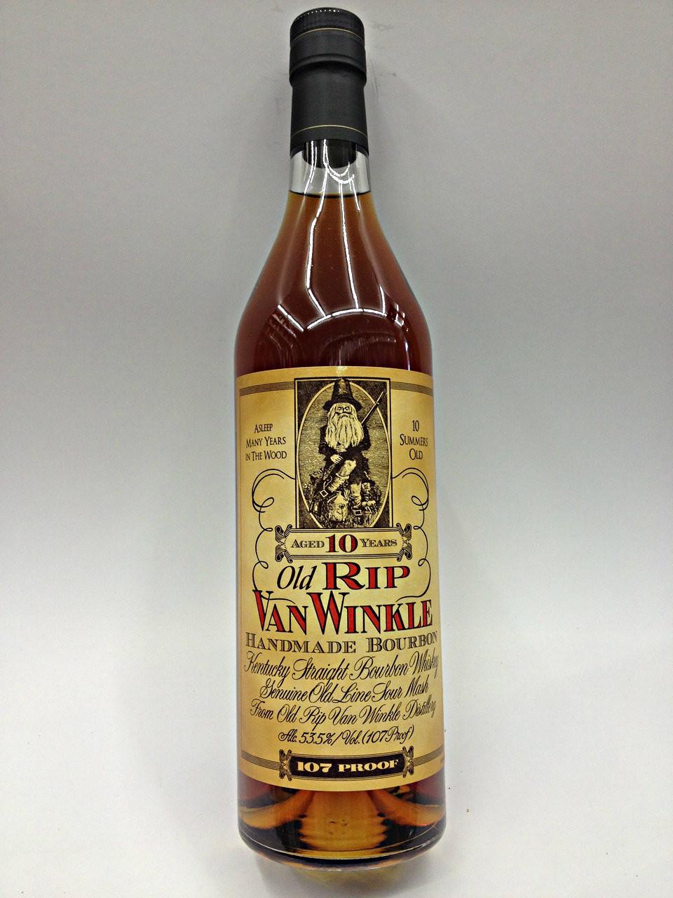 Pappy Van Winkle 10 Year Old Bourbon