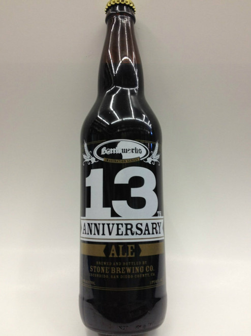 Stone & Bottleworks 13th Anniversary Ale