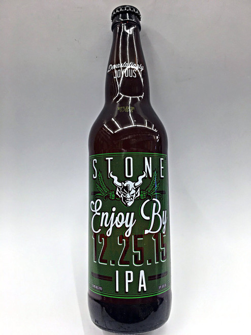 Stone Enjoy By IPA 12.25.15