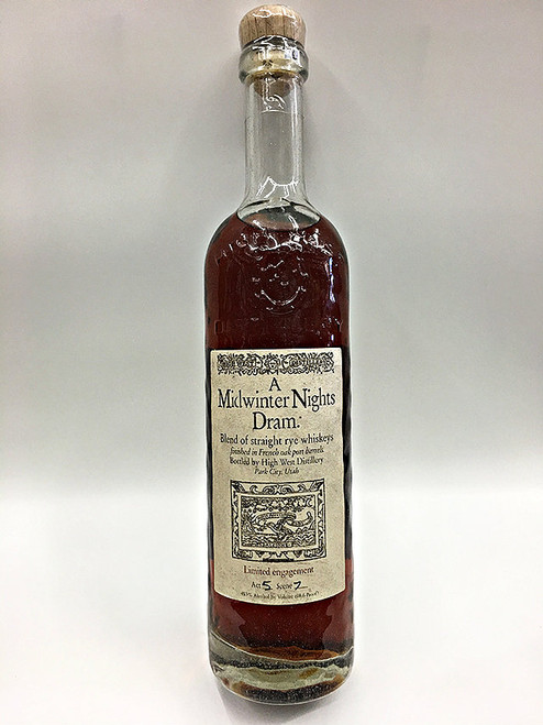 High West A Midwinter Nights Dram Quality Liquor Store