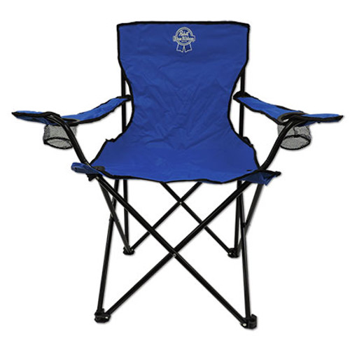 Pabst Blue Ribbon Pbr Official Promotional Folding Camp