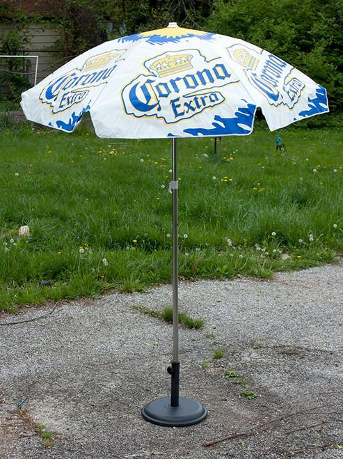 Charmant ... Corona Extra Heavy Duty Vinyl Patio Table Beach Umbrella