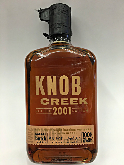 Knob Creek 2001 Batch 1 Limited Edition Bourbon Whiskey