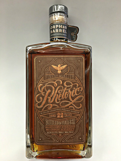 Orphan Barrel Rhetoric 22 Year Old Bourbon