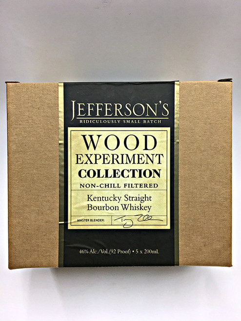 Jefferson's Ridiculously Small Batch Wood Experiment Collection