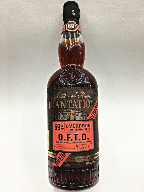 Plantation Old Fashioned Traditional Dark Overproof Rum