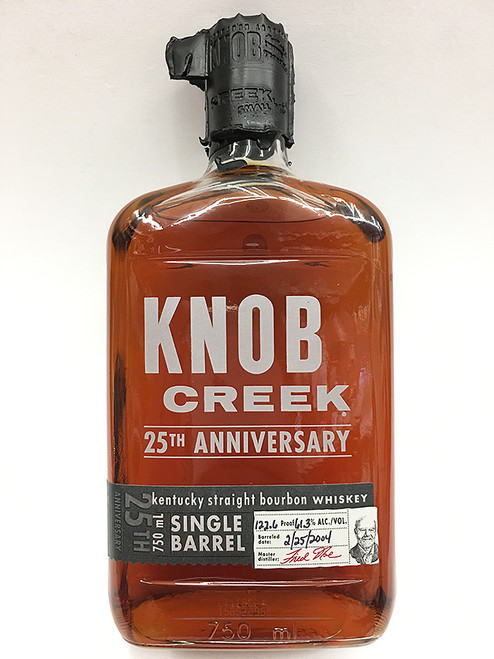 Knob Creek 25th Anniversary Single Barrel Bourbon