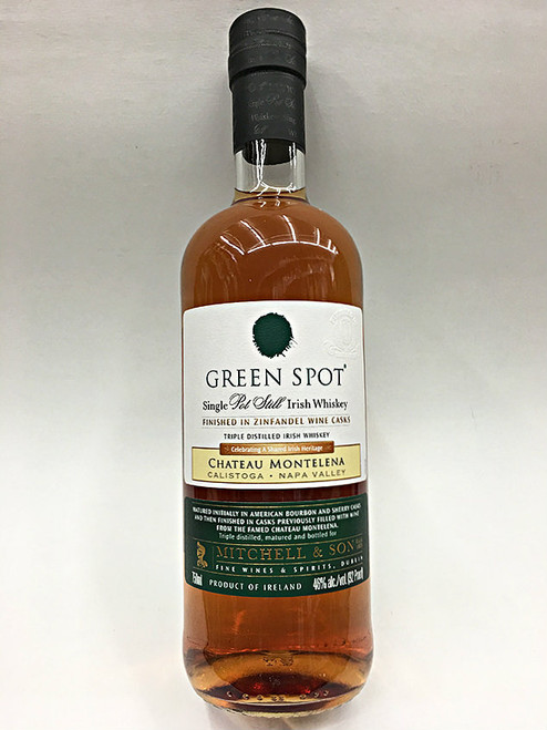 Green Spot Chateau Montelena Irish Whiskey