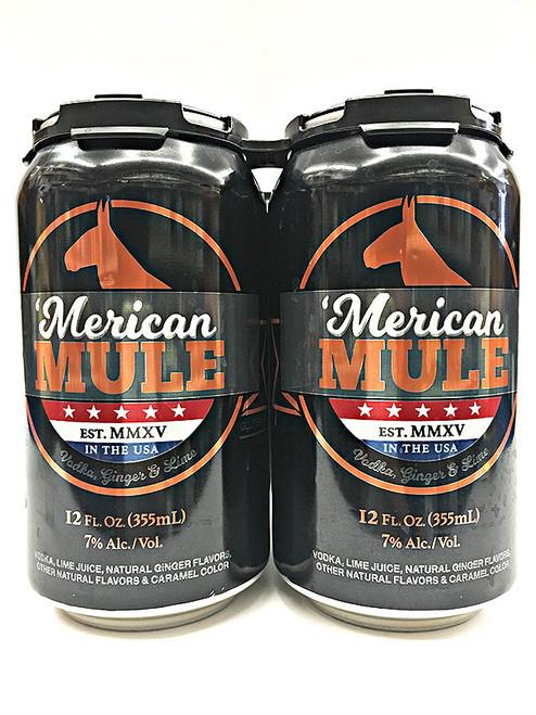 'Merican Mule 4 Pack Can